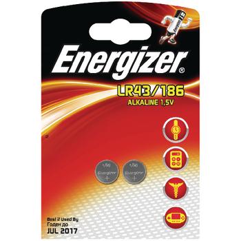 EN-639319 Alkaline batterij lr43 1.5 v 2-blister