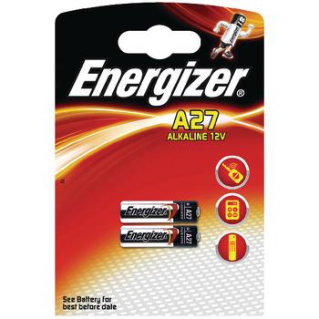 EN-639333 Alkaline batterij 27a 12 v 2-blister