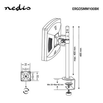 ERGOSMM100BK Monitorbeugel voor bureaus | 1 scherm | 14-24 \