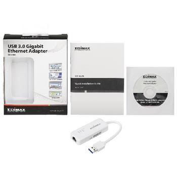 EU-4306 Netwerk usb-adapter gigabit Inhoud verpakking foto