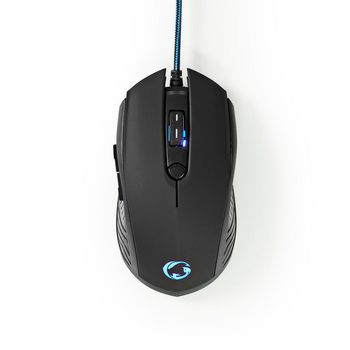 GCK41100BKFR Gaming combo kit | 4-in-1 | toetsenbord, koptelefoon, muis en muismat | zwart/blauw | azerty | frans Product foto