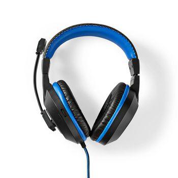 GCK41100BKUS Gaming combo kit   4-in-1   toetsenbord, koptelefoon, muis en muismat   blauw / zwart   qwerty   us  Product foto