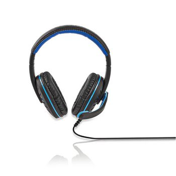GHST100BK Gamingheadset | over-ear | microfoon | 3,5 mm connectoren Product foto