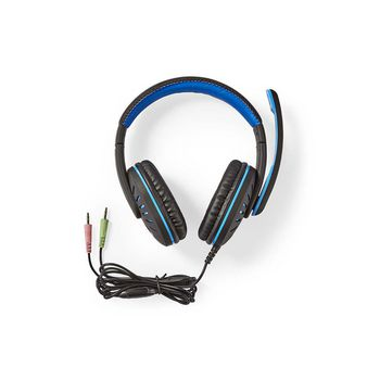 GHST100BK Gamingheadset | over-ear | microfoon | 3,5 mm connectoren Inhoud verpakking foto