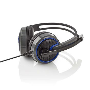 GHST200BK Gamingheadset | over-ear | microfoon | 3,5 mm connectoren Product foto