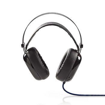GHST300BK Gamingheadset | over-ear | ultra-bass | led-verlichting | 3,5-mm & usb-connectoren