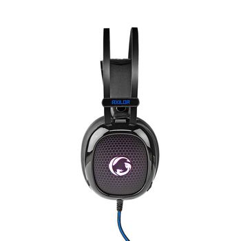 GHST300BK Gamingheadset | over-ear | ultra-bass | led-verlichting | 3,5-mm & usb-connectoren Product foto