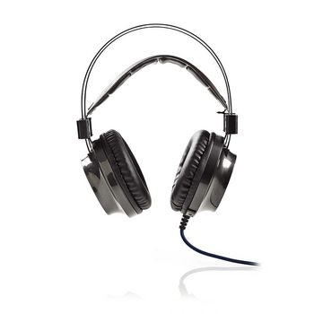 GHST400BK Gamingheadset | over-ear | force-feedback | led-verlichting | 3,5-mm & usb-connectoren Product foto