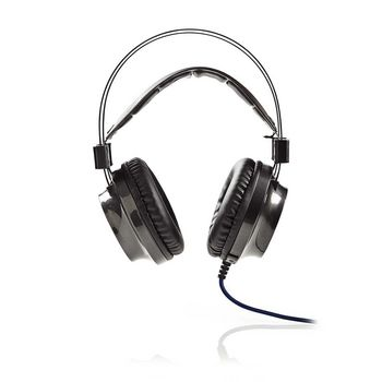 GHST400BK Gamingheadset | over-ear | force-feedback | led-verlichting | 3,5-mm & usb-connectoren