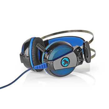 GHST500BK Gaming headset | over-ear | surround | usb type-a | buigbare en inschuifbare microfoon | 2.10 m | no Product foto