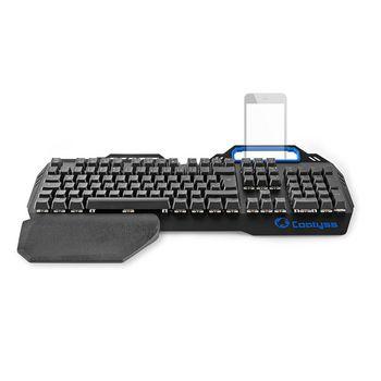 GKBD400BKDE Mechanisch gamingtoetsenbord | rgb-verlichting | duits | metalen design