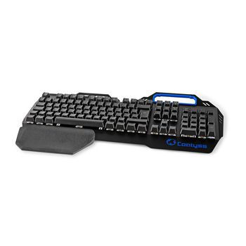 GKBD400BKDE Mechanisch gamingtoetsenbord | rgb-verlichting | duits | metalen design Product foto