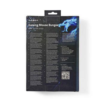 GMBEU3100BK Gamingmuisbungee | 3 usb-poorten | flexibele klem | achtergrondverlichting Verpakking foto