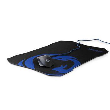 GMMP100BK Gaming-set muis en muismat | bedrade muis | 1600 dpi | 6 knoppen In gebruik foto