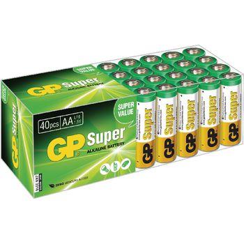 GP-BOX40AA Alkaline batterij aa 1.5 v super 40-doos