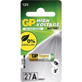GP27A Alkaline batterij 27a 12 v super 1-blister