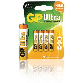 GPB1012 Alkaline batterij aaa 1.5 v ultra 4-blister