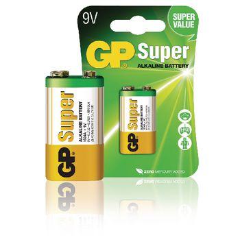 GPB1025 Alkaline batterij 9 v super 1-blister