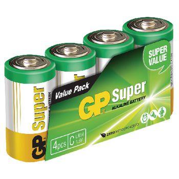 GPB1030 Alkaline batterij c 1.5 v super 4-pack