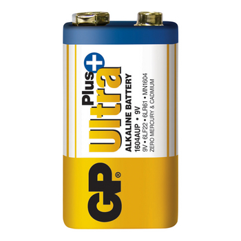 GPB4004 Alkaline batterij 9 v ultra+ 1-blister Product foto