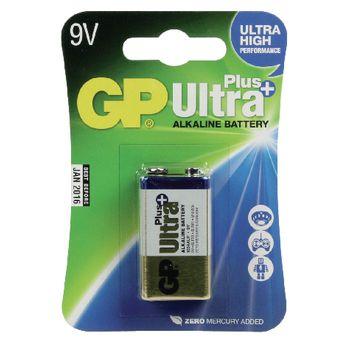 GPB4004 Alkaline batterij 9 v ultra+ 1-blister