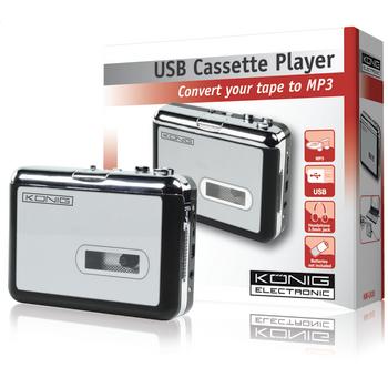 Cassettebandjes omzetten naar MP3