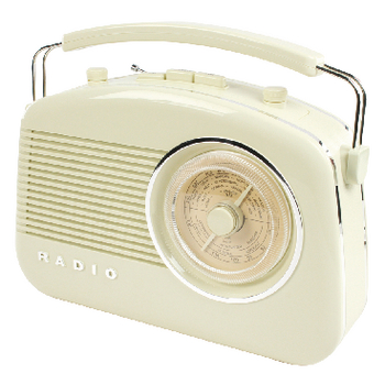 HAV-TR710BE Draagbare fm-radio fm / am ivoor Product foto