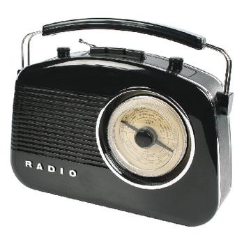 HAV-TR710BL Draagbare fm-radio fm / am zwart Product foto