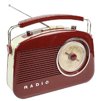HAV-TR710BR Draagbare fm-radio fm / am bruin Product foto