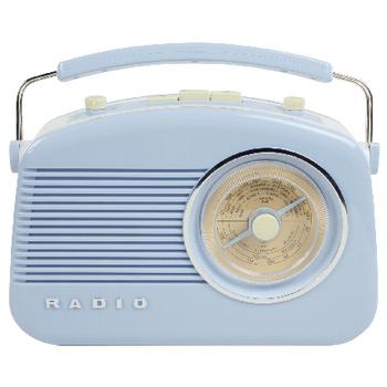 HAV-TR710BU Draagbare fm-radio fm / am blauw Product foto