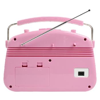 HAV-TR710PI Draagbare fm-radio fm / am roze Product foto