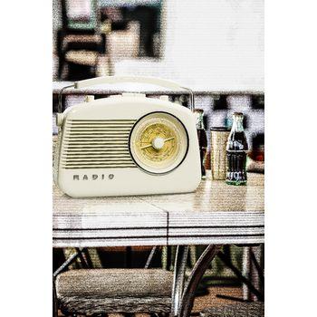 HAV-TR800BE Draagbare bluetooth radio fm / am aux beige Product foto