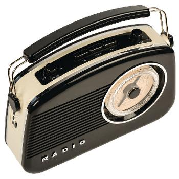 HAV-TR800BL Draagbare bluetooth radio am / fm aux zwart