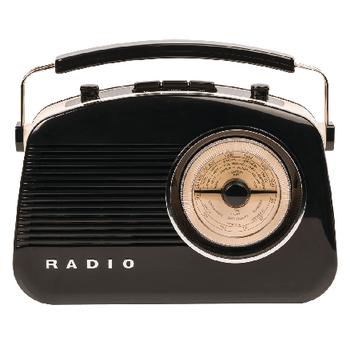 HAV-TR800BL Draagbare bluetooth radio am / fm aux zwart Product foto