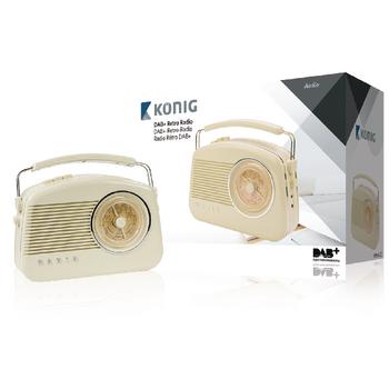 HAV-TR900BE Draagbare dab+ radio fm / am / dab / dab+ aux beige