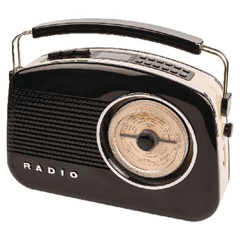 HAV-TR900BL Draagbare dab+ radio fm / am / dab / dab+ aux zwart Product foto