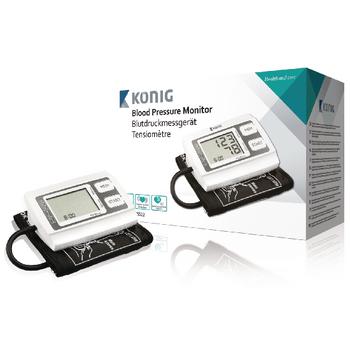 HC-BLDPRESS22 Bloeddrukmeter bovenarm wit/zwart Product foto