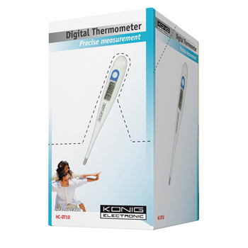 HC-DT10 Digitale thermometer wit Verpakking foto