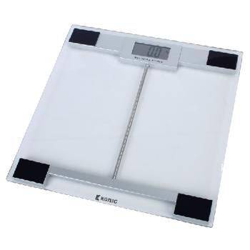 HC-PS100N Digitale personenweegschaal 180 kg transparant
