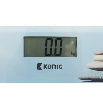 HC-PS14 Digitale personenweegschaal 150 kg In gebruik foto