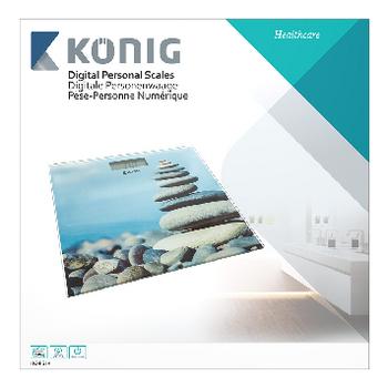 HC-PS14 Digitale personenweegschaal 150 kg Verpakking foto