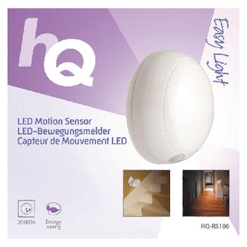 HQ-RS100 Led lamp met bewegingsensor 0.5 w 40 lm Verpakking foto