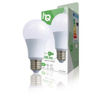 HQLE27A60002 Led-lamp e27 a60 9.5 w 806 lm 2700 k Verpakking foto