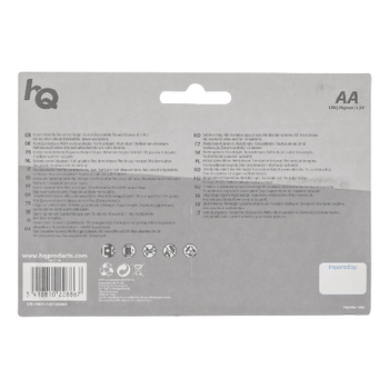 HQLR6/10BL Alkaline batterij aa 1.5 v 10-blister Verpakking foto