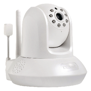 IC-7113W Hd pan-tilt ip-camera binnen 1280x720 wit Product foto