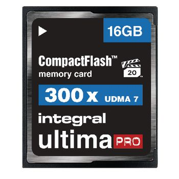 INCF16G300W Cf (compact flash) geheugenkaart 16 gb Product foto