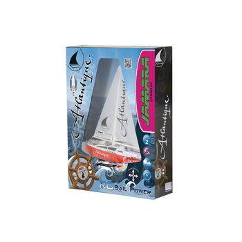 JAM-040250 R/c-boot zeilboot atlantique rtr rood Verpakking foto