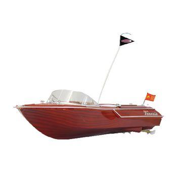 JAM-040390 R/c-boot venezia rtr rood Product foto