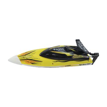 JAM-040630 R/c-boot fin255 rtr 2.4 ghz control geel