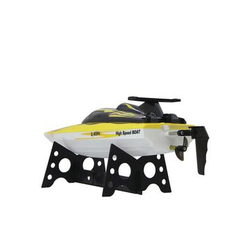 JAM-040630 R/c-boot fin255 rtr 2.4 ghz control geel Product foto